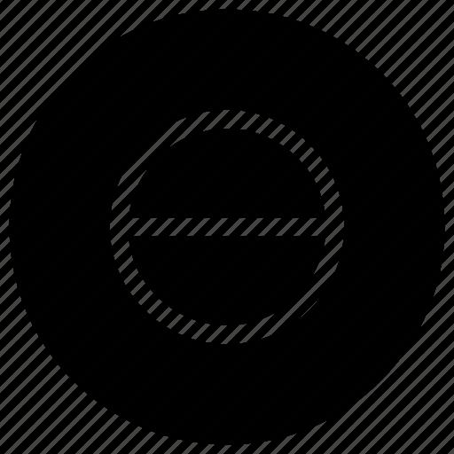 circle, half icon