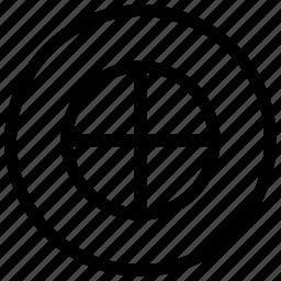 ancient, beliefs, cross, symbols icon