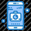 application, camera, mobile icon