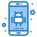 android, app, application, phone icon