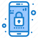 app, lock, mobile, phone