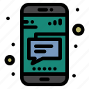 message, mobile, phone, text