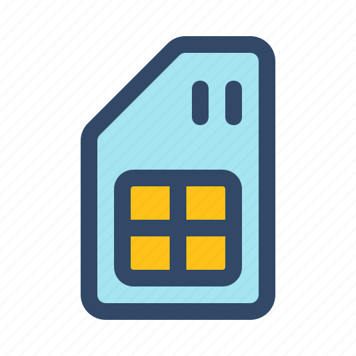 android, app, card, device, interface, sim icon