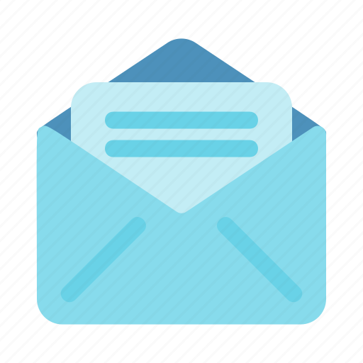 android, app, device, interface, mail icon