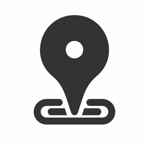 android, app, device, interface, location icon