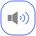 android, aplication, app, phone, sound icon