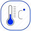 android, aplication, app, phone, temperature icon