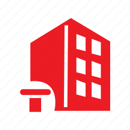 architecture, building, company, construction icon
