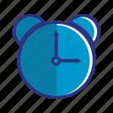 alarm, blue, clock, schedule, time, timer, watch