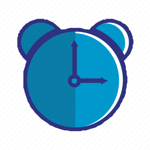 alarm, blue, clock, schedule, time, timer, watch icon