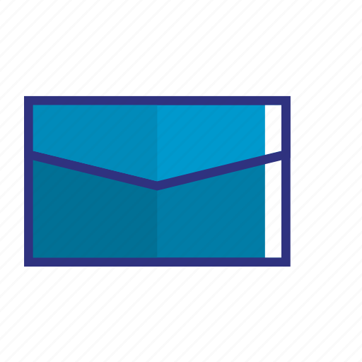 blue, email, envelope, mail, message, messege, text icon