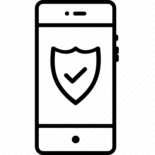 firewall, guard, mobile, protection, secure, security, shield icon