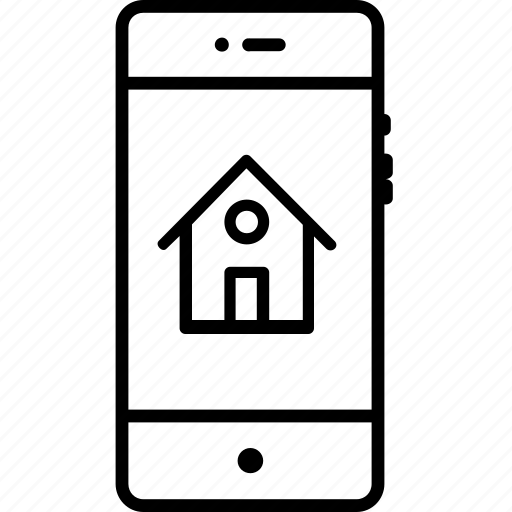 address, bulding, homepage, house, location, mobile icon