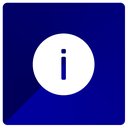 info, information, knowledge icon
