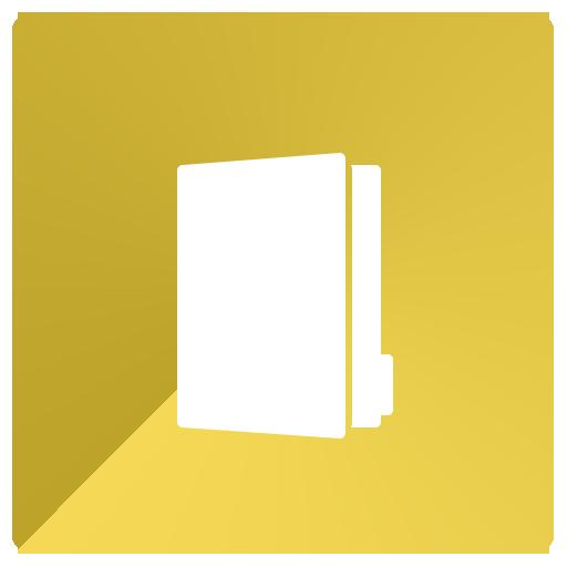 binder, folder, group, portfolio icon