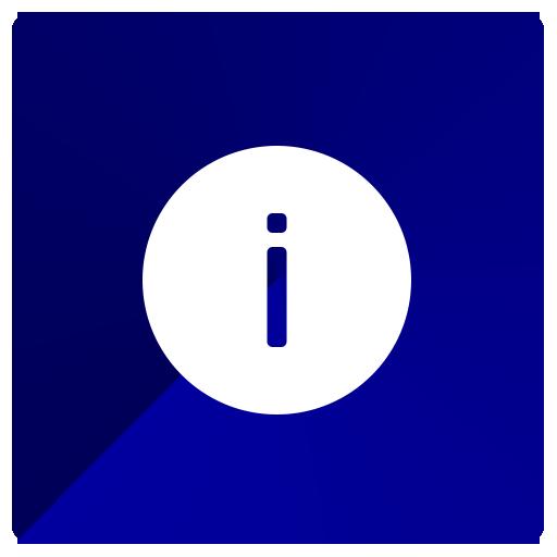 info, information, knowledge icon