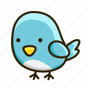 animal, bird, fly, nature icon