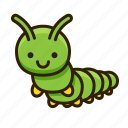 bug, nature, animal, caterpillar