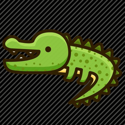 Animal, crocodile, wild, zoo icon - Download on Iconfinder