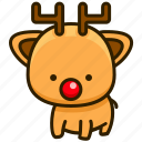 cat, deer, pet, animal icon