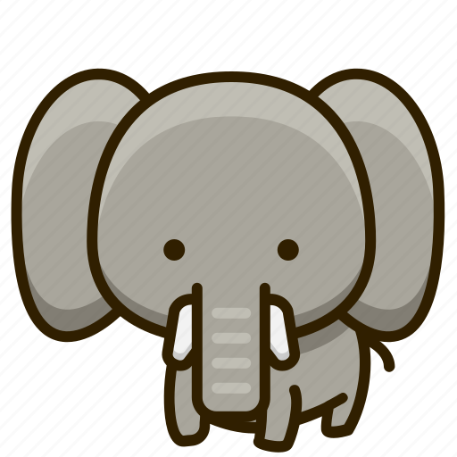 Animal, elephant, mammal, zoo icon - Download on Iconfinder