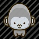 ape, gorilla icon