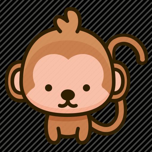 Animal, monkey, nature, wild icon - Download on Iconfinder