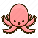 animal, ocean, octopus, squid icon