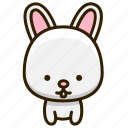 pet, rabbit, cute, animal icon