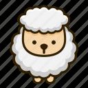 animal, lamb, sheep, wool icon