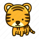 animal, leopard, tiger, zoo icon