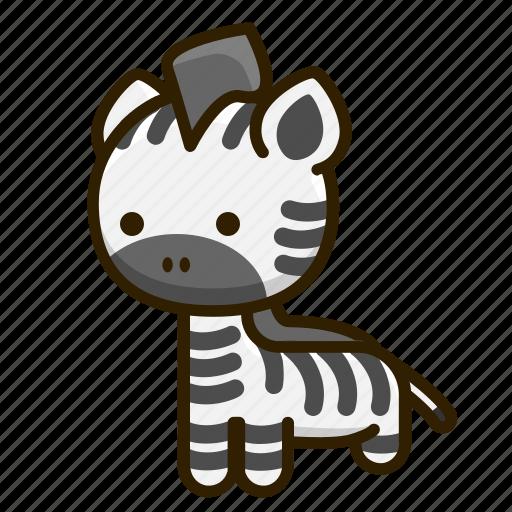 Animal, nature, zebra, zoo icon - Download on Iconfinder