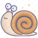 insect, slow, snail, speed icon