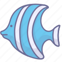 animal, fish, river icon