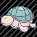 animal, sea, turtletortoise icon