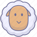 animal, animals, sheep icon