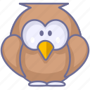 animal, animals, bird icon