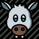 animal, avatar, avatars, donkey icon