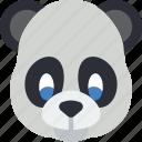 animal, avatar, avatars, panda icon