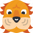 animal, avatar, avatars, lion icon