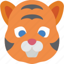 animal, avatar, avatars, tiger icon