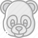 animal, avatar, avatars, panda icon
