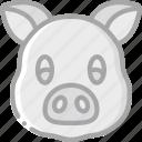 animal, avatar, avatars, pig