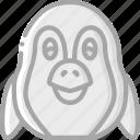 animal, avatar, avatars, penguin icon