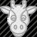 animal, avatar, avatars, giraffe