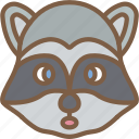 animal, avatar, avatars, raccoon