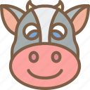 animal, avatar, avatars, cow icon