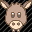 animal, avatar, avatars, donkey