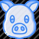 avatars, avatar, animal, pig