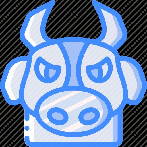 animal, avatar, avatars, bull icon